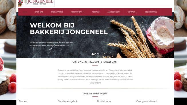 website bakkerij jongeneel