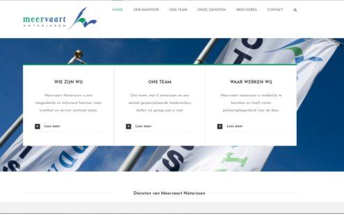 Website Meervaart notarissen