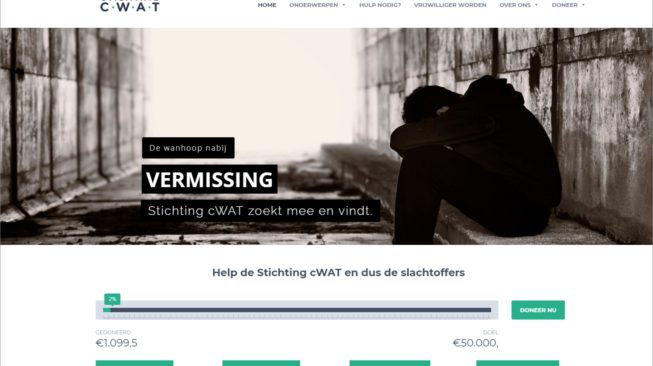 Website Stichting cWAT